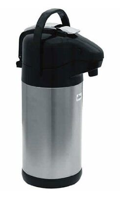 Update International NVSL-30BK 3 L Sup-R-Air Air Pot w/Black Lever Top
