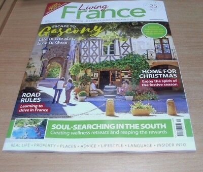 Living France magazine DEC 2017 in Gers, Learning to Drive, South Soul-Searching
