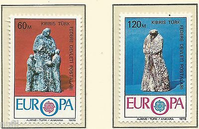 Cyprus Turkish / Turkish Cyprus EUROPE cept 1976 MNH