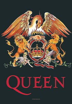 """Queen Flagge / Fahne """"logo"""" Poster Flag Posterflagge Poster Flag"""
