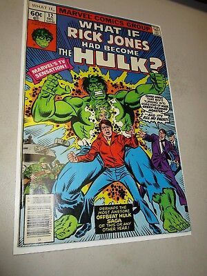 What If #12 ~ What If Rick Jones had become The HULK ~ HIGH GRADE -