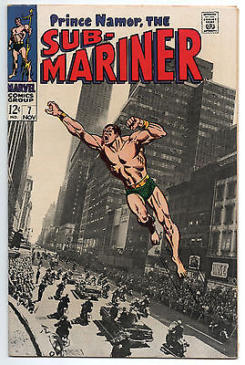 """SUB-MARINER #7 - """"For President...The Man Called Destiny!"""" VERY FINE / NEAR MINT"""