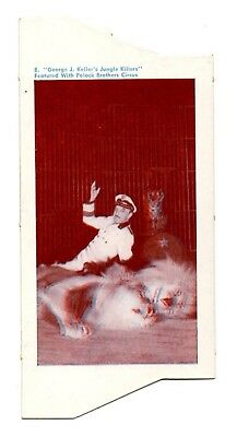 1954 Quaker Circus Analglyphic 3D 3-D Card RARE Writing on Back #8