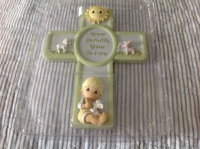 New Precious Moments Boy Cross Dated 2006 # 713008