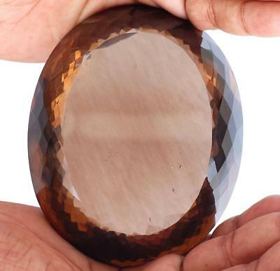 2881 Cts Certified Huge Natural Smokey Quartz Museum Size Untreated Gemstone