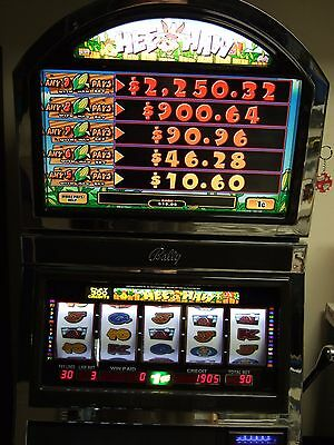 BALLY ALPHA S9000 Hee Haw 5 Reel Quick Hits Slot Machine-Super Clean