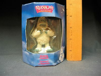 Enesco Bumble Abominable Snowman Rudolph Island of Misfit Toys Ornament