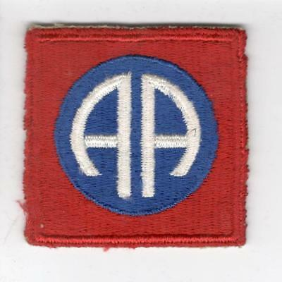 WW 2 82nd Airborne Division Patch Inv# B537