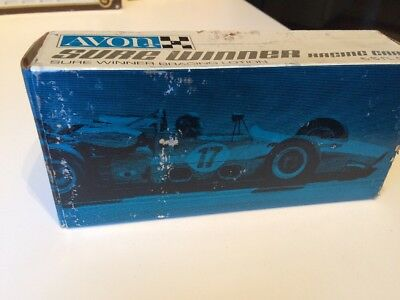 VTG Avon Sure Winner Racing Car Decanter Box ONLY