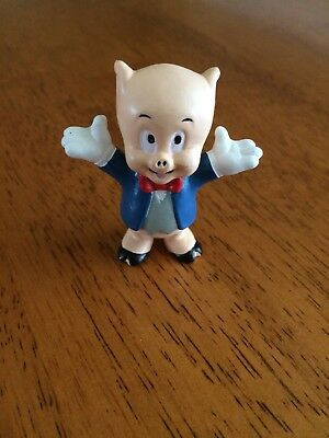 Vintage - Porky the Pig - looney Tunes PVC Figure