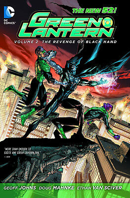 Green Lantern New 52 Volume 2: Revenge Of The Black Hand Softcover Graphic Novel