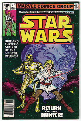 STAR WARS [1977] #27 - FVF (7.0) - Solid 1979 Comic Book! - SCANS!