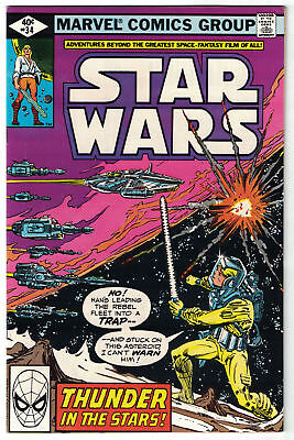 STAR WARS [1977] #34 - NM- (9.2) - Collectible Grade 1980 Comic Book! - SCANS!