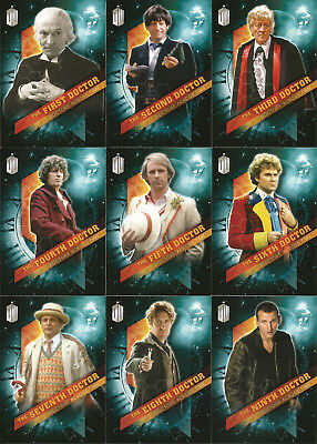 Doctor Who Timeless ~ DOCTORS ACROSS TIME 13-Card Insert Set