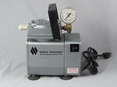 GAST DOA-152-AA WATERS DIAPHRAGM VACUUM PUMP 115v EXCELLENT CONDITION SHIPS FREE