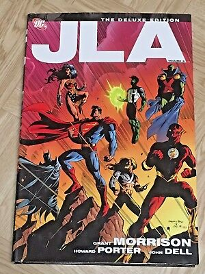 JLA Deluxe Edition vol 3 by Grant Morrison TPB - DC Comics - Great Shape
