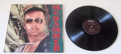 Mc Hammer ** Let's Get It Started ** Vinyl Lp ** 1988, Capitol, C1-90924