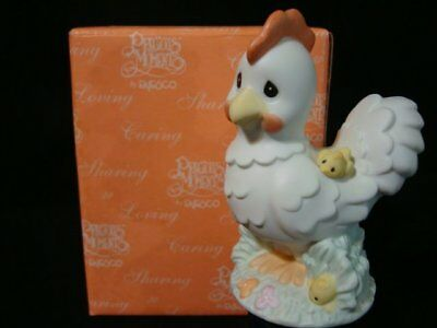 Precious Moments-Rare Japanese Zodiac Exclusive Rooster-Dawn Of A New Beginning