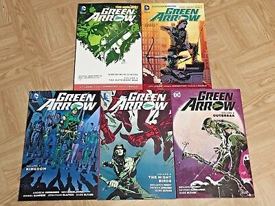 Green Arrow TPB Lot - Vol 1,2,3,4,5,6,7,8,9 - New 52 - DC Comics - Excellent