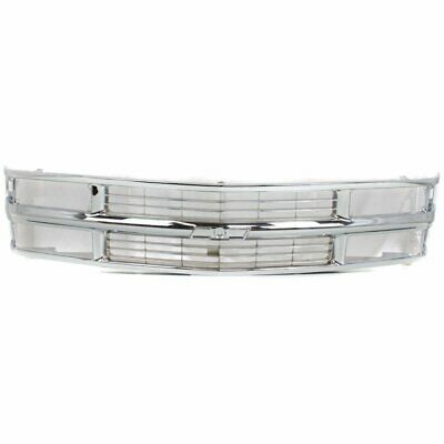 Grille Chrome Chevy C/K Truck 94-02 Suburban 94-99 Tahoe 95-00