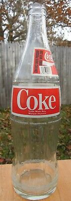ACL Coke Bottle With Paper Neck Label - French - Quebec - Canada - 750 ML