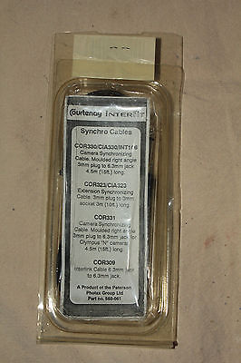 Courtenay Interfit Cia330 Camera Flash Synchronizing Cable 6699