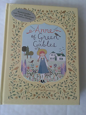 ANNE OF GREEN GABLES by L.M. Montgomery (2016) BARNES & NOBLE LEATHERBOUND