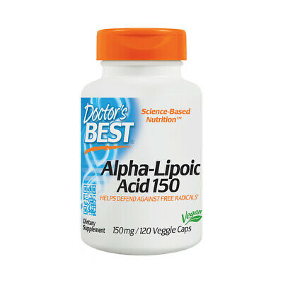 Alpha Lipoic Acid, 150mg x 120VCaps, Doctors Best, 24Hr Dispatch