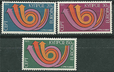 Cyprus Cyprus EUROPE cept 1973 Without Fijasellos MNH