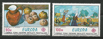 Turkey Cyprus / Cyprus turkish EUROPE cept 1975 Without Fijasellos MNH