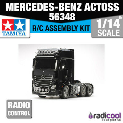 New! 56348 TAMIYA MERCEDES-BENZ TRUCK ACTROS 3363 GIGASPACE 6X4 R/C KIT 1/14th