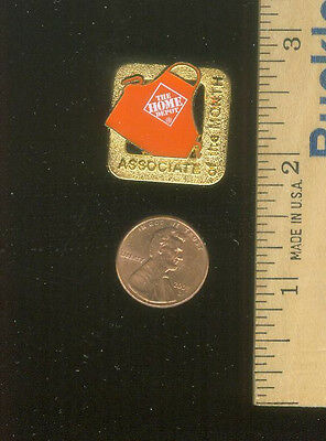 Home Depot Associate Of The Month Pin COLLECTIBLE, APRON Metal PIN, THD NEW L@@K