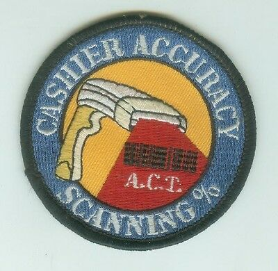 Home Depot Cashier Accuracy Scanning % Patch THD   A. C. T.