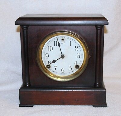 Sessions Antique Mantle Clock 100% All Original Beautiful & Runs Great!