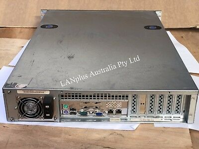ZT Systems Quad Core AMD 2.9Ghz 8GB RAM w 8 empty HDD Caddies 2U DIY NAS Server