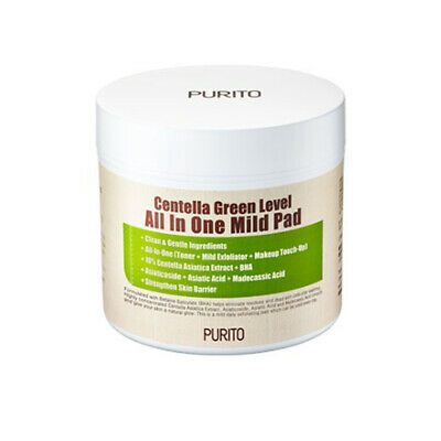 PURITO Centella Green Level All In One Mild Pad 130ml (pimple pad)