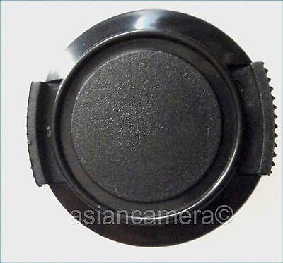 Front Lens Cap For Sony DCR-PC7 DCR-PC10 + Keeper Cord Snap-on Dust Glass Cover