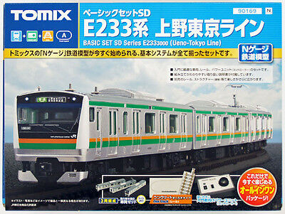 Tomix 90169 JR Series E233-3000 (Ueno-Tokyo Line) N Scale Starter Set (N scale)