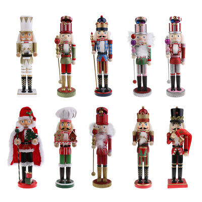 Christmas Ornament Soldier Drummer King Santa Clause Nutcracker Xmas Decor Gifts