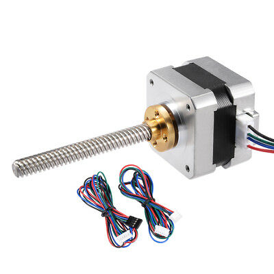 Stepper Motor 42 Bipolar 75mm 0.56NM 1.5A 2.5V 4 Lead Cable for 3D Printer