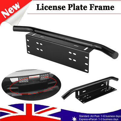 Universal Number Plate Bullbar Frame - Driving Light Bar Mount Mounting Bracket