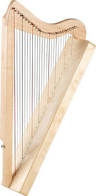 Rees Harps Harpsicle 26 String Harp - MAPLE