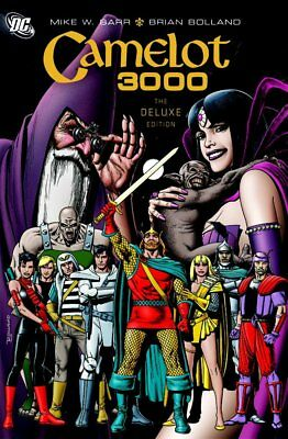 Camelot 3000 Deluxe Edition HC Hardcover by Mike W. Barr & Brian Bolland NEW