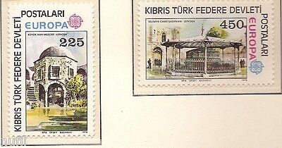 Cyprus Turkey / Cyprus turkish EUROPE cept 1978 MNH