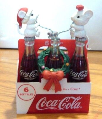 COCA-COLA COKE 3rd IN ISSUE THINGS GO BETTER WITH COKE ORNAMENT  1991