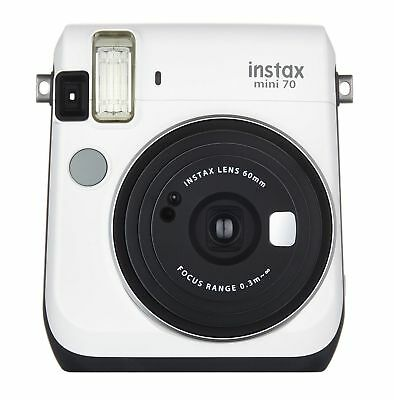 Fujifilm Instax Mini 70-Instant Film Camera-White-16496043-Certified Refurbished