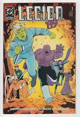 DC Comics L.E.G.I.O.N. #3 Copper Age