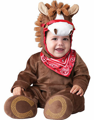 playful pony baby animal western infant halloween costume l 18 24 months