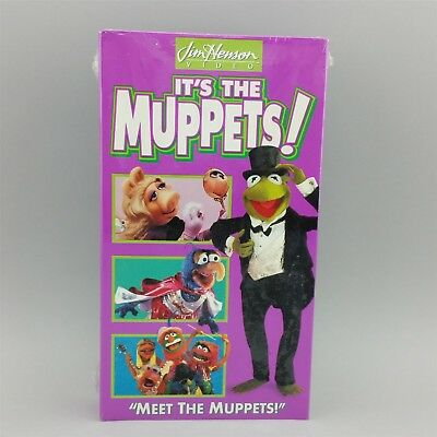 IT'S THE MUPPETS Meet the Muppets VHS Video Sealed - $15 ...