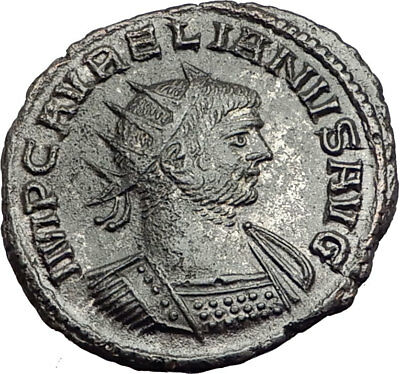 AURELIAN Genuine 275AD Authentic Ancient Original Roman Coin i65153